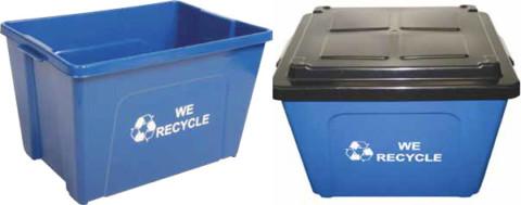 Curbside Recycling Bin 16 Gallon (TRUE 16)
